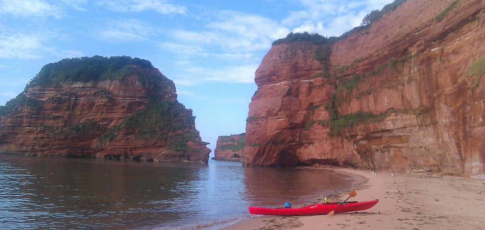 Sea Kayaking in Devon